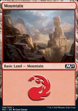 Core Set 2021: Mountain (269)