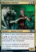Core Set 2021 Foil: Obsessive Stitcher