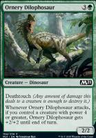 Core Set 2021: Ornery Dilophosaur
