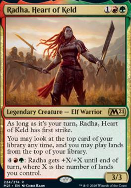 Core Set 2021: Radha, Heart of Keld