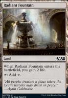 Core Set 2021 Foil: Radiant Fountain