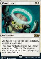 Core Set 2021 Foil: Runed Halo