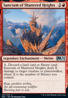 Core Set 2021 Foil: Sanctum of Shattered Heights