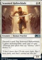 Core Set 2021 Foil: Seasoned Hallowblade