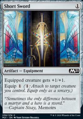 Core Set 2021: Short Sword