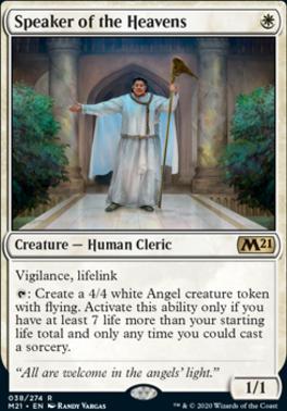 Core Set 2021: Speaker of the Heavens