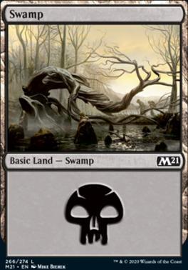 Core Set 2021: Swamp (266)