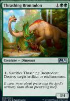 Core Set 2021: Thrashing Brontodon