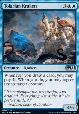 Core Set 2021: Tolarian Kraken