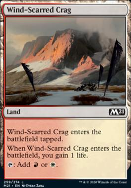 Core Set 2021: Wind-Scarred Crag
