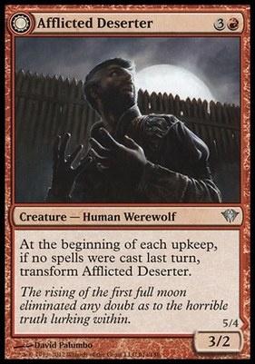 Dark Ascension Foil: Afflicted Deserter