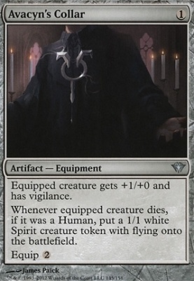 Dark Ascension Foil: Avacyn's Collar