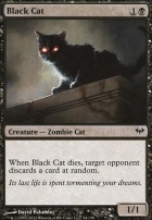 Dark Ascension Foil: Black Cat