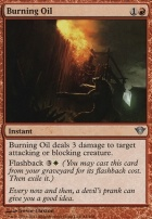 Dark Ascension Foil: Burning Oil
