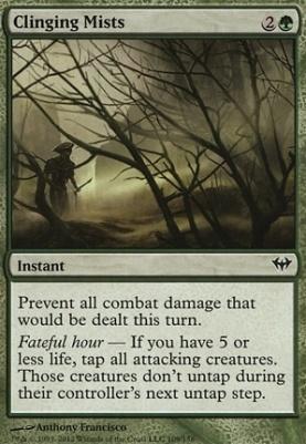 Dark Ascension Foil: Clinging Mists