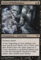 Dark Ascension Foil: Curse of Misfortunes