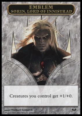 Dark Ascension: Emblem (Sorin, Lord of Innistrad)