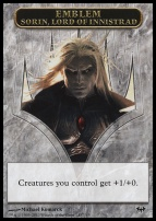Dark Ascension: Emblem (Sorin, Lord of Innistrad)