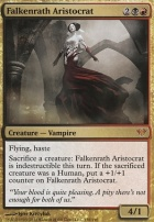 Dark Ascension Foil: Falkenrath Aristocrat