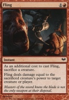 Dark Ascension Foil: Fling