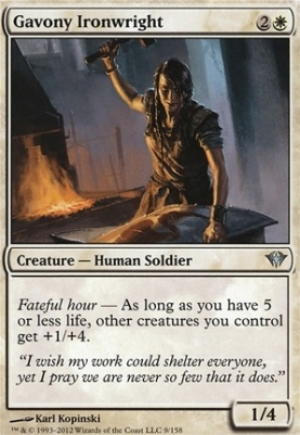Dark Ascension Foil: Gavony Ironwright