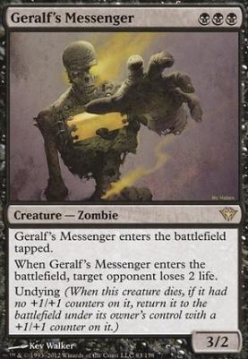 Dark Ascension: Geralf's Messenger