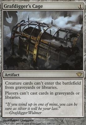 Dark Ascension Foil: Grafdigger's Cage