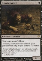 Dark Ascension Foil: Gravecrawler