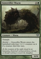 Dark Ascension Foil: Gravetiller Wurm