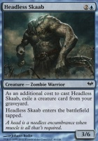 Dark Ascension Foil: Headless Skaab