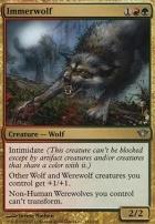 Dark Ascension Foil: Immerwolf
