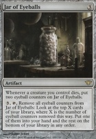 Dark Ascension Foil: Jar of Eyeballs