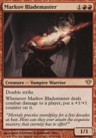 Dark Ascension: Markov Blademaster
