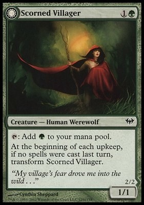 Dark Ascension Foil: Scorned Villager