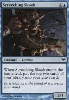 Dark Ascension Foil: Screeching Skaab