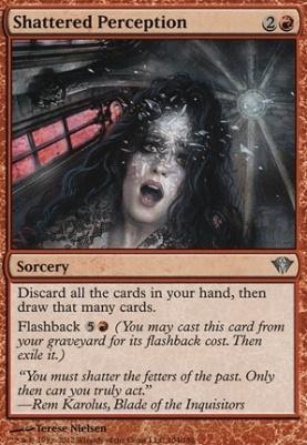 Dark Ascension Foil: Shattered Perception