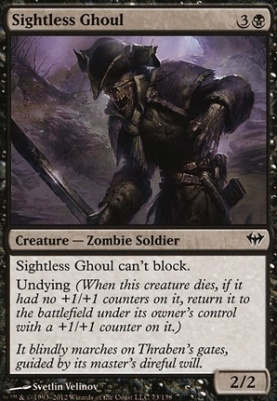Dark Ascension Foil: Sightless Ghoul