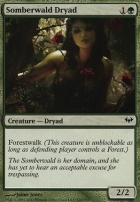Dark Ascension Foil: Somberwald Dryad