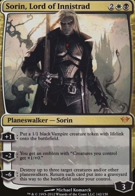 Dark Ascension: Sorin, Lord of Innistrad