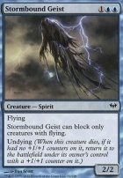 Dark Ascension Foil: Stormbound Geist