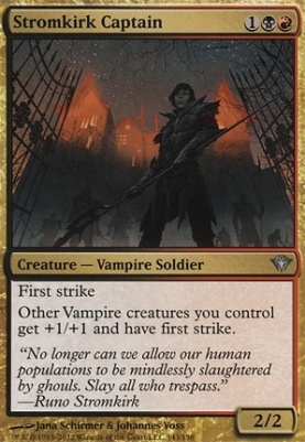 Dark Ascension Foil: Stromkirk Captain