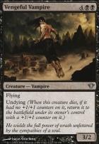 Dark Ascension Foil: Vengeful Vampire