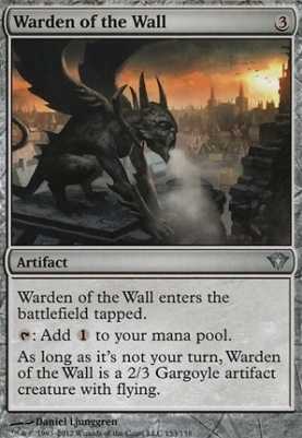 Dark Ascension Foil: Warden of the Wall