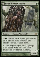 Dark Ascension Foil: Wolfbitten Captive
