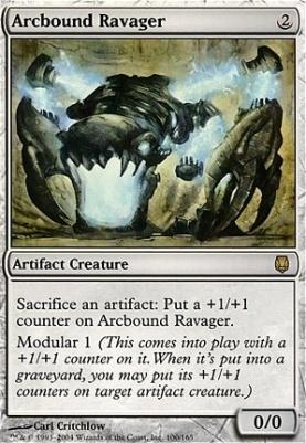 Darksteel Foil: Arcbound Ravager