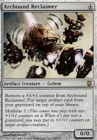 Darksteel Foil: Arcbound Reclaimer