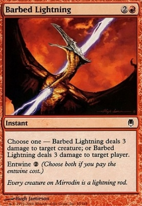 Darksteel: Barbed Lightning