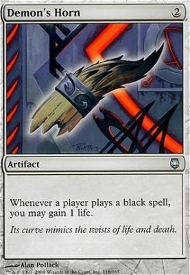 Darksteel Foil: Demon's Horn