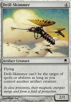 Darksteel Foil: Drill-Skimmer