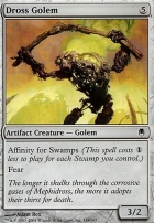 Darksteel Foil: Dross Golem